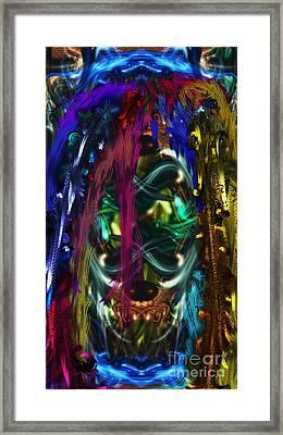 Mask Of The Spirit Guide Framed Print