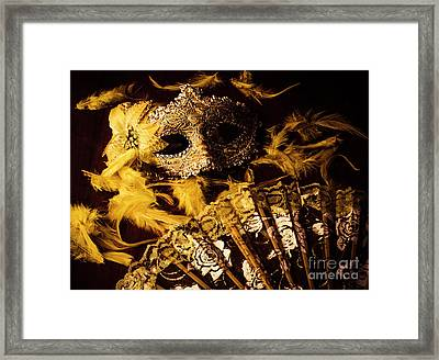 Mask Of Theatre Framed Print by Jorgo Photography - Wall Art Gallery