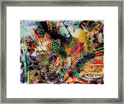 Masked Mask Framed Print
