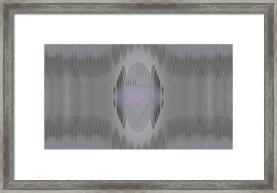Maskfeather Framed Print