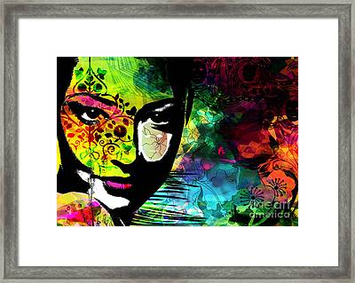 Masking Ego Framed Print