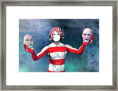 Masks Framed Print by Carol and Mike Werner