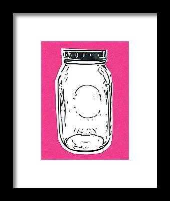 Canning Jar Framed Prints