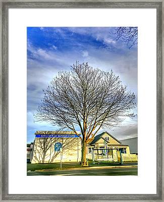 Masonic Centre Framed Print