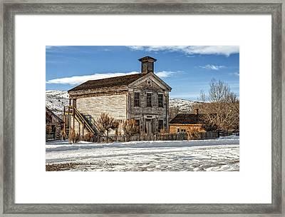 Masonic Lodge School Framed Print