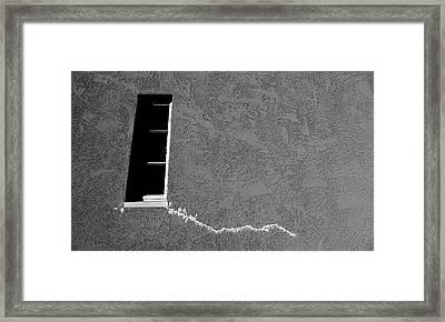 Masonic Window Framed Print by CML Brown