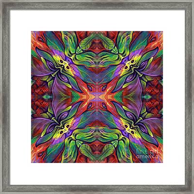 Masqparade Tapestry 7e Framed Print by Ricardo Chavez-Mendez