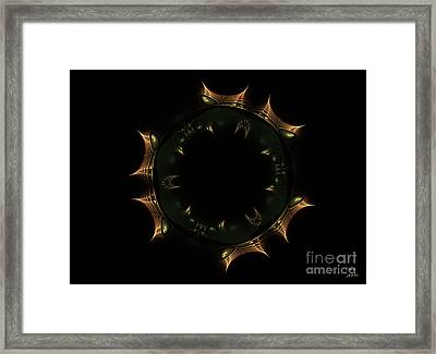 Masque Du Temps Framed Print by Dom Creations