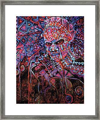 Masque Number 5 Framed Print