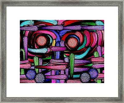 Masquerade  - 1 Framed Print by Blue Doves