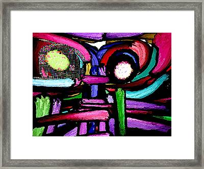 Masquerade - 2 Framed Print by Blue Doves
