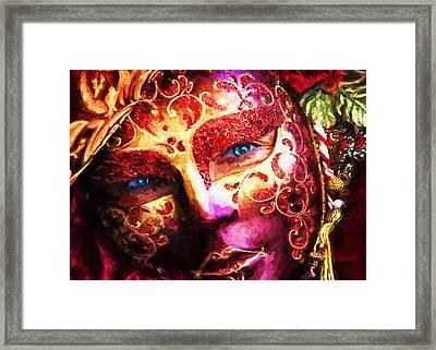 Masquerade 2 Framed Print