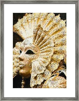 Masquerade 3 Framed Print
