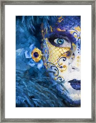 Masquerade I Framed Print