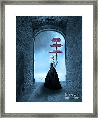 Framed Print featuring the photograph Masquerade by Juli Scalzi