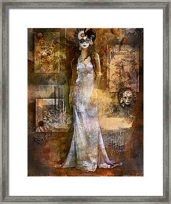 Masquerade Framed Print by Phil Clark