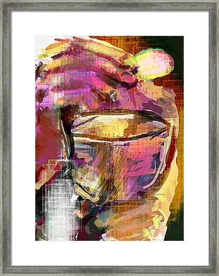 Mass Eat Framed Print by James Thomas