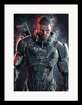 Mass Effect Framed Prints