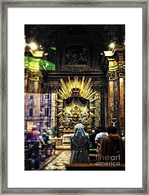 Mass Framed Print by HD Connelly