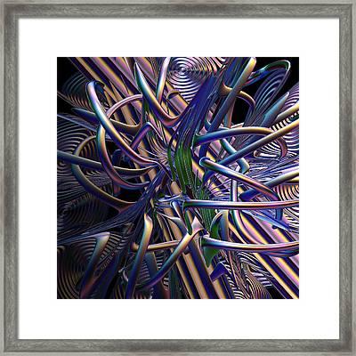 Mass Phenomenon Framed Print by Michele Caporaso