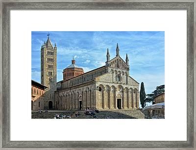 Massa Marittima Cathedral Framed Print by Joachim G Pinkawa