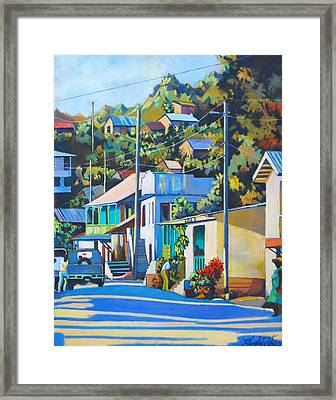 Massacre Village Framed Print