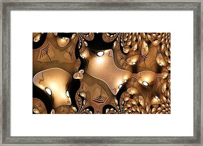 Massed Production Framed Print by Ron Bissett
