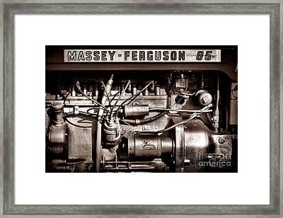 Massey Ferguson 85 Framed Print by Olivier Le Queinec