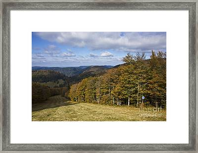 Massif Des Vosges, France Framed Print by Jean-Louis Klein & Marie-Luce Hubert