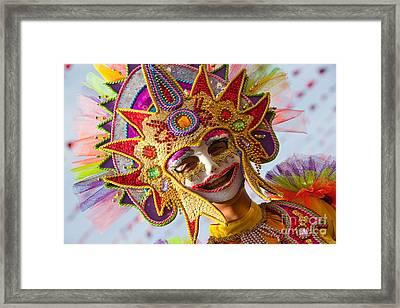 Masskara  Framed Print