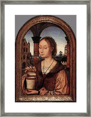 Massys Quentin St Mary Magdalene Framed Print by Quentin Massys