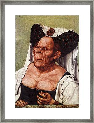 Massys Quentin The Ungly Duchess Framed Print