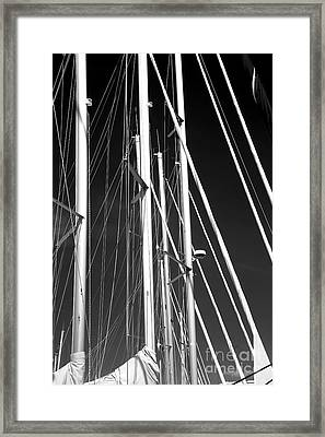 Mast Profile Framed Print