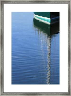 Mast Reflections Framed Print by Karol Livote