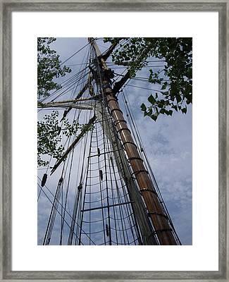 Mast Framed Print