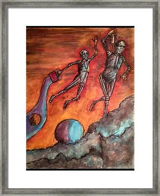 Master Minds Of Mars, The Voices Of Time Framed Print