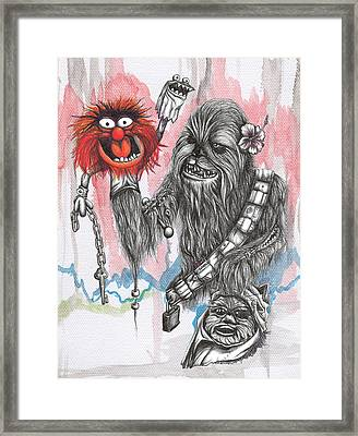 Master Of Puppets Framed Print by Tai Taeoalii