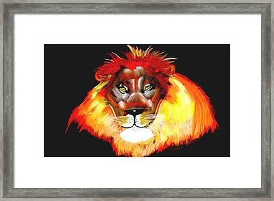 Master Of The Jungle 2 Framed Print