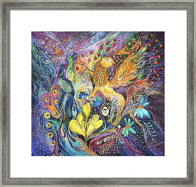 Master Of The Magic Key Framed Print by Elena Kotliarker