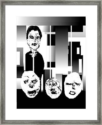 Master Of The Puppets Framed Print