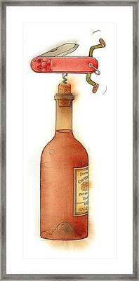 Master Pocketknife 02 Framed Print by Kestutis Kasparavicius
