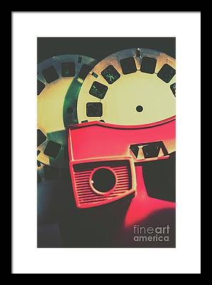 Stereographic Photographs Framed Prints