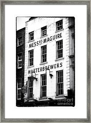 Masterbrewers Framed Print