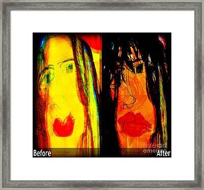 Mastering Myself Framed Print by Fania Simon