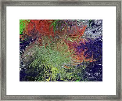 Masters Mindscape Framed Print by Roxy Riou