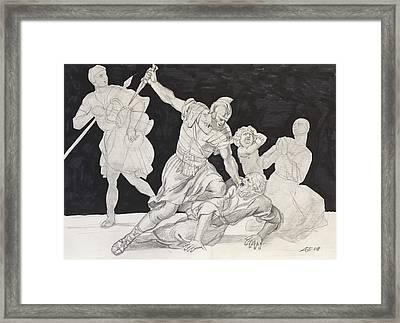 Masterstudy Framed Print