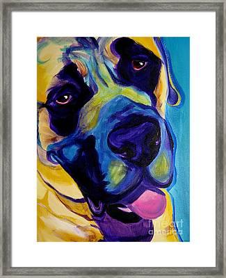 Mastiff - Lazy Sunday Framed Print