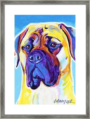 Mastiff - Mustang Sally Framed Print