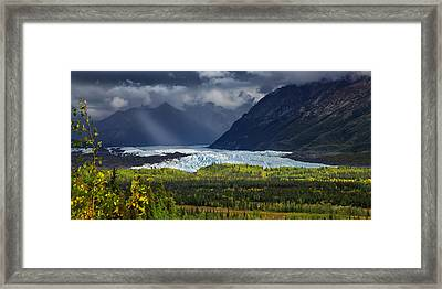 Mat-su Ray Framed Print by Ed Boudreau