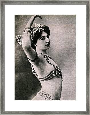 Mata Hari Framed Print